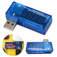 Wholesale Digital USB Mobile Power Charging Current Voltage Tester Meter Mini Voltmeter Ammeter With Tracking Number