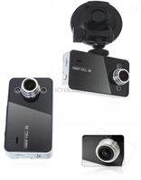 Wholesale 2015 New arrival K6000 Car Camera Car Video Recorder FHD P FPS inch TFT Screen with G sensor Registrator Car DVR