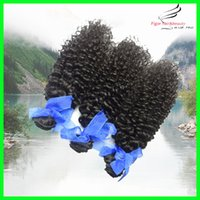 Wholesale Brazilian Hair Kinky Curly Human Hair Extensions Brazilian Natural Wave Hair g Wavy Brazilian Curly Hair Weave