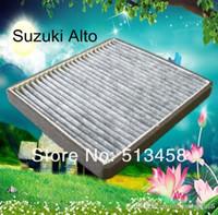 Wholesale CUK2129 Large finely car black carbon cabin air filter for Suzuki A10auto part cm AC J A3