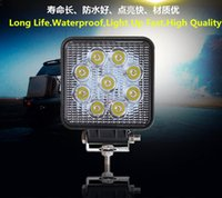 Wholesale D59 Car Led Headlights Work light w Superbright Truck Ship Excavator Off road Cross Country Vehicle Light