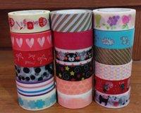 washi tape - tape Washi Tape Hot Sale Top Fashion Scrapbooking Stickers Cintas Single side Washi Paper