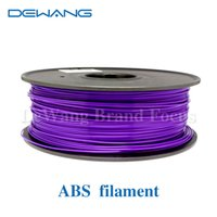 Wholesale DeWang Brand Purple mm ABS D Filament printing kg Roll Consumables for MakerBot RepRap UP Mendel order lt no track