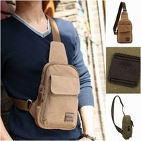 Wholesale Fashion Korea Style Canvas Travel Messenger Bag Outdoor Sports Cycling Shoulder Bag Colors Choose GPG