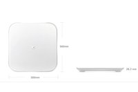 digital scales - 2015 xiaomi mi smart weighing scale xiaomi weigh scale support Android iOS7 above bluetooth4 white color free DHL