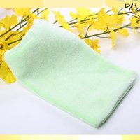 bath and beauty works - body brush pinceis necesserie Light green elastic glove type Cleansing Beauty Bath Gloves bath and body works