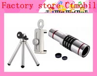 best telephoto lens - 18X Universal Zoom Optical Telescope Camera Telephoto Lens With Tripod Holder For iphone plus samsung s6 edge note best gift