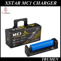 battery charger monitor - XSTAR MC1 CHARGER SINGLE SLOT CHARGER Micro USB charging interface Temperature Monitoring System TC CC CV algorithm fit battery DHL