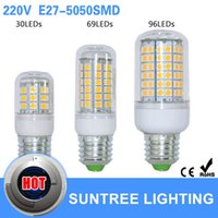 5w e27 led - E27 Led Bulb Chip V V W W W Corn Bulb LEDs SMD Lamps For Indoor lampada Candle Lighting