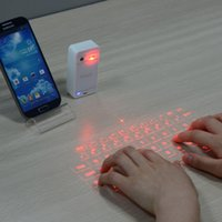 apple bluetooth touchpad - Atongm L1 Bluetooth Virtual Laser Projection Keyboard Touchpad for Apple amp Android White