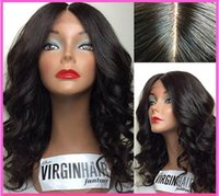 africa colors - 2015 new Beutitful body wave africa american peruvian virgin hair glueless full lace wigs with bangs can be dyed