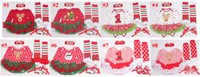 baby deer infant shoes - 16Styles Baby Rompers Christmas Santa Deer Set Infant Tutu Dress Rompers Headband Legwarm Shoes New Born Baby Xmas New Year Clothes