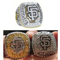 Wholesale One Set SAN FRANCISCO GIANTS WORLD SERIES REPLICA CHAMPIONSHIP RINGS SOLID