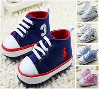 Wholesale Mixing styles children soft soled shoes months baby toddler shoes lace children s casual shoes pair B3