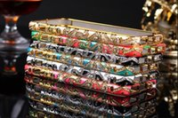 Wholesale Luxury Shining National Style Crystal Rhinestone Metal Frame Bumpe Case For iPhone s G