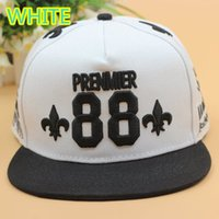 Cheap FREE SHIPPING Wholesale FASHION PREMIER EXO WOLF 88 EMBROIDERED STINGY BRIM HATS MEN WOMEN Knit Hats And Snapback Caps SPRING Winter