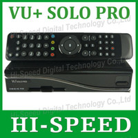 Cheap 2pcs fedex free shipping VU Solo Pro Satellite Receiver Linux System Enigma 2 Mini VU+ Solo with CA card sharing Youtube IPTV
