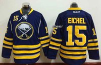 Wholesale eichel Jersey Buffalo Sabres Jersey Hockey Jersey Sport Jerseys Embroidery Logos Blue Top Quality