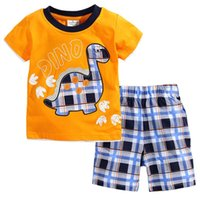 t shirts manufacturer - Xayakids boy clothing sets Short sleeved T shirt suit children s American manufacturers selling quality assurance baby clothes kids swimwear