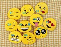 2,015 Vintage QQ expression Hot Monnaie New Emoji Monnaie Cartoon Mini Wallet Ladies Fashion Mignon Petit Zipper Totes