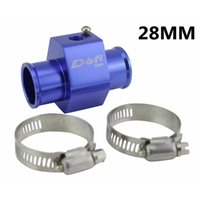 Wholesale Racing DIFI Water Temp Temperature Joint Pipe mm Sensor Water Temp Gauge Radiator Hose Adapter mm Blue