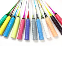 badminton rackets brands - FANGCAN Ribbed EVA Overgrip Colorful Colors Perforated Non slip Tennis Grip Squash Racket Absorbed Wrap Grips Brand High Quallity