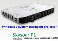 Wholesale Computer and Projector one machine windows System projector Portable HD DLP Projector Intelligent projectors