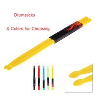 drum - Professional A Drumsticks Drum Sticks Nylon Material Lightweight Design for Drum Set Colors for Choosing I537