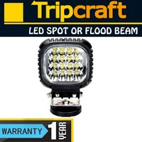 Cheap FREE SHIPPING! 4PCS LOT! 48W CREE LED OFFROAD LIGHT Flood Spot For Car Truck 4WD 4X4 Black Daytime Running Lights