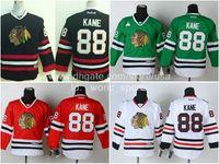 nhl jersey - Cheap Youth Chicago Patrick Kane Green Black Red White Kids Blackhawks Nhl Ice Hockey Boys Stitched Jerseys
