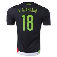 wholesale mexico - Mexico A GUARDADO Home Soccer Jersey Customized Thai Quality Soccer Jersey Cheap Mexico Jersey Shirts for Sale Soccer Jersey Discount