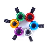 Cheap 1PC Hot New Safety Metal Ring Bike Bicycle Cycling Metal Horn Ring Safety Sound Alarm Handlebar bicycle Bell horn
