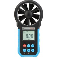 Wholesale BSIDE EAM02 Digital Anemometer Air Velocity Volume Area Air Flow Meter Gauge Tester with LCD Backlight Wind Speed Tester