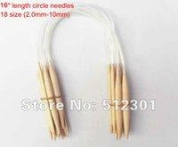 Wholesale New Sizes cm quot Circular Bamboo Knitting Needles