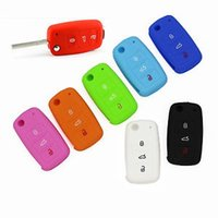 Wholesale 2015 Silicone B Key Cover Keyless Entry Remote Fob Shell for VW Jetta Golf Passat