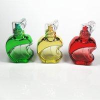 beauty cosmetics glass bottle - 20pcs ML Apple cosmetic spray bottle beauty portable perfume empty bottles
