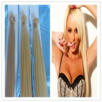 Cheap Hot sale seashine hair 18'-28' straight 100% Brazilian virgin human flat tip hair extensions 3pcs lot free shipping