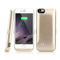 new black power - NEW Battery Case For iPhone6 quot Power Case Charger Mah Black White Gold DHL