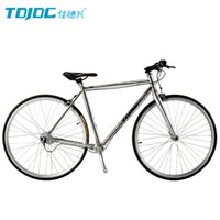 Wholesale TDJDC RT240 Flat Seat Tube Style C Chainless Shaft Drive Road Bike With SHIMANO Inner Speed Hub For Urban Leisure Sports Riding