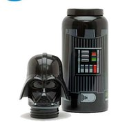 Wholesale Star Wars mug Star Wars kettle Black Warrior stainless steel cups ML students office cup