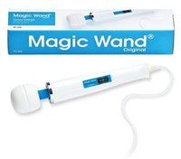 10pcs Nueva Hitachi Magic Wand Masajeador AV Vibradores potentes, magia varitas cuerpo completo Personal Massager HV-260 cuadro HV260 envases 110-250V