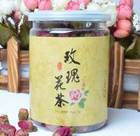 Acheter Thé floraison gros en chine-NEW 2013 rose thé de qualité spéciale scellée fleur séchée conserve la Chine floraison thé 65g beauté et de soins de santé de gros