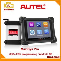Wholesale 100 Original Autel MaxiSys Pro MS P Automotive Diagnostic Analysis System scan tool Android OS DS708 update MS908P