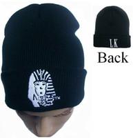 Prezzi Wool hat-10pcs 2015 Hip Hop cappello lavorato a maglia Skullies Uomini E Donne Gorros cappello di lana inverno di marca ultimo re Beanie Bone per gli uomini Cappelli Casual beanies donne
