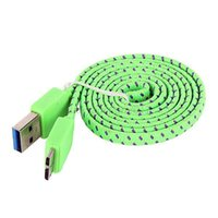 Wholesale 3FT Braided USB Sync Data Charger Cable Cord For Samsung Galaxy S5 i9600 Note