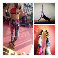 Wholesale the high elasticity fitness pants running speed dry pants tight yoga training pants women Yoga Pants