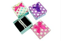 Wholesale New arrival Watch box Elegant Gift box Jewelry box colorful dot Paper Packaging Package box for Wristwatch color to choose