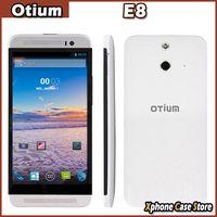 e8 android - 3G Otium E8 Inch HD Screen Android Smart Phone MTK6582 Quad Core GHz RAM GB ROM GB WCDMA GSM X720 OTG MP