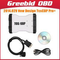 Cheap 2014.02V New Design CDP OBD2 Scanner TCS CDP PRO TCS CDP+ Multi-language New TCSCDP TCS CDP Pro without Bluetooth Support Win8