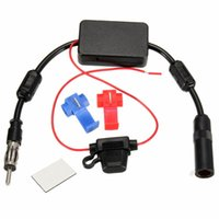 Wholesale Hot Sale High Standard Universal V Car FM Radio Aerial Antenna FM Signal Amplifier Booster Male To Female